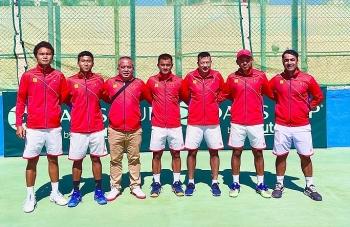 ທີມເທັນນິສ ຫວຽດນາມ ແຂ່ງຂັນຮອບ play-off ກຸ່ມ II Davis Cup ປີ 2022