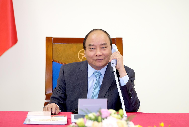 ນາຍົກລັດຖະມົນຕີ ຫງວຽນຊວນຟຸກ ອວຍພອນການນຳລາວ ແລະ ກຳປູເຈຍ ເນື່ອງໃນໂອກາດບຸນປີໃໝ່ລາວ ແລະ ບຸນ Chol Chnam Thmay