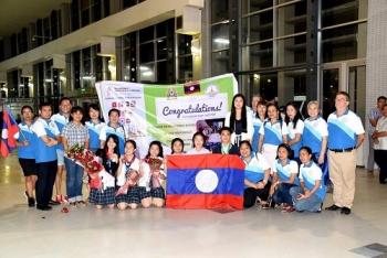 ນັກຮຽນລາວ ສາມາດຍາດໄດ້ຫຼຽນຄຳໃນການແຂ່ງຂັນ ໂຄງການວິທະຍາສາດໜຸ່ມນ້ອຍ ASEAN+3 ຄັ້ງທີ 7