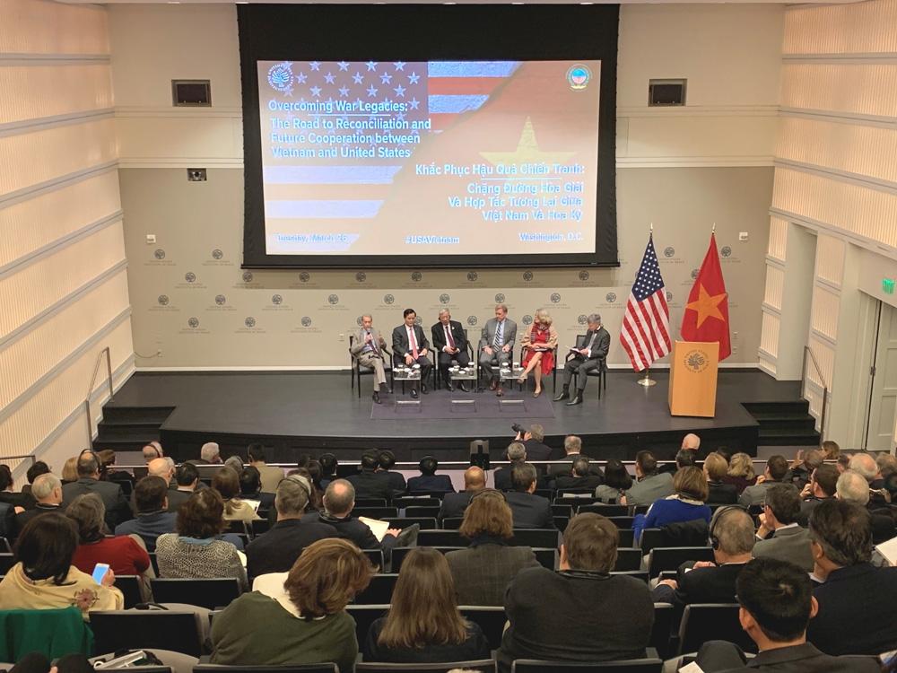 Khắc phục hậu quả sau chiến tranh là động lực thúc đẩy quan hệ Việt Nam - Mỹ