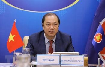 SOM ASEAN+3 ຄົ້ນຄວ້າ, ພັດທະນາ ແລະ ສຳຜັດກັບວັກຊິນກັນໂຄວິດ-19 ຢ່າງປອດໄພ, ມີປະສິດທິຜົນ
