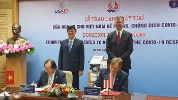 USAID ໜູນຊ່ວຍເງິນເກືອບ 10 ລ້ານ USD ເພື່ອຊ່ວຍ ຫວຽດນາມ ຮັບມືກັບໂລກລະບາດ ແລະ ຫຼຸດຜ່ອນຜົນກະທົບຈາກໂລກລະບາດໂຄວິດ - 19