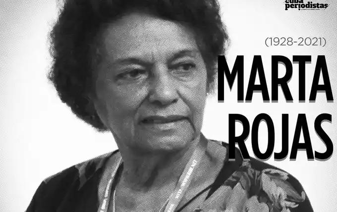 ອຳລານັກຂ່າວອາວຸໂສປະຕິວັດກູບາ Marta Rojas
